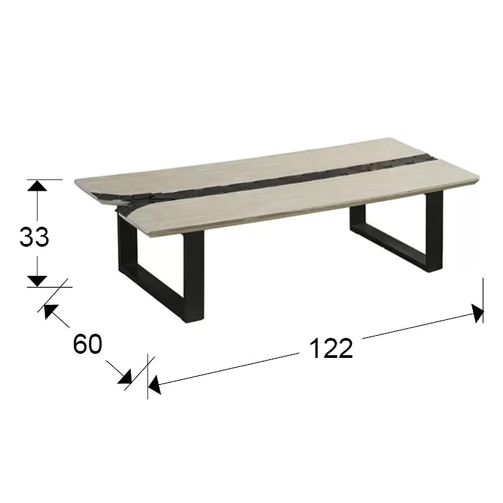 coffee table zig zag schuller - Masa de cafea Zigzag SCHULLER (743826)