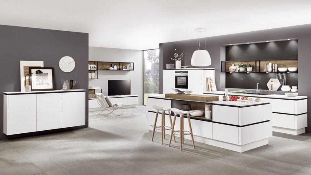 fronty 1024x576 - Белая кухня – 7 идей дизайна и практические советы.