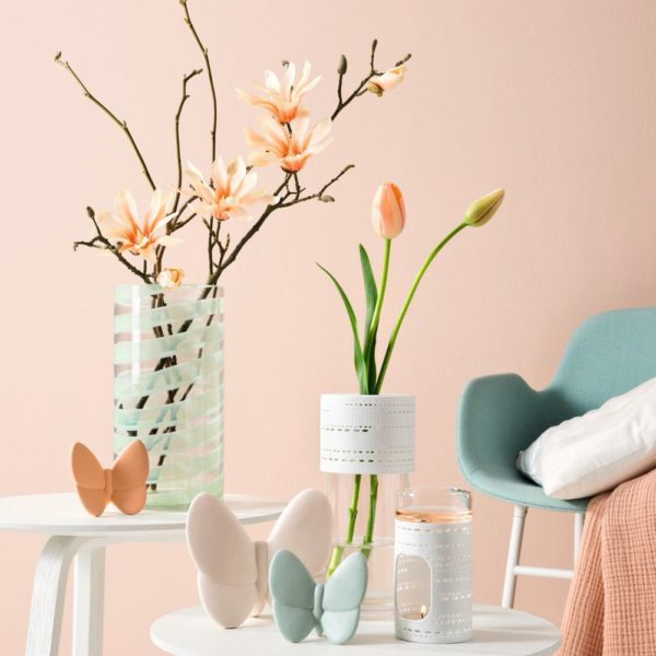 null N 002.xxl3  1 600x600 - Floare decorativă Magnolia apricot fine 42 cm (L031598)