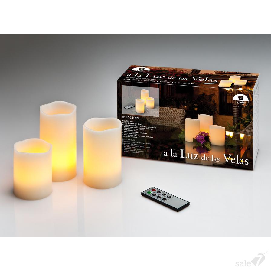 299434 500 - Lumânări LED SCHULLER (521099)
