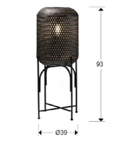 453108 1 - Lampă de podea SCHULLER (453108)