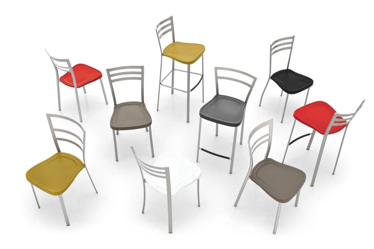 carioca seats g1320 01 1 - Scaun pentru bar Ace CONNUBIA (CB/1329)