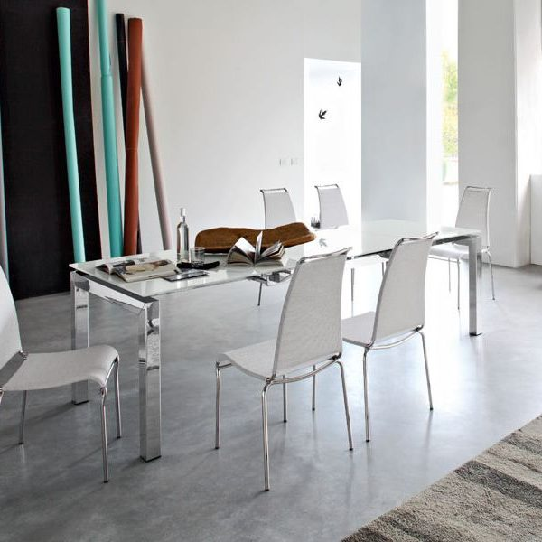 cb1069 air high stackable chairs made of metal and white net nancy 600x600 - Scaun Air High CONNUBIA (CB/1069)