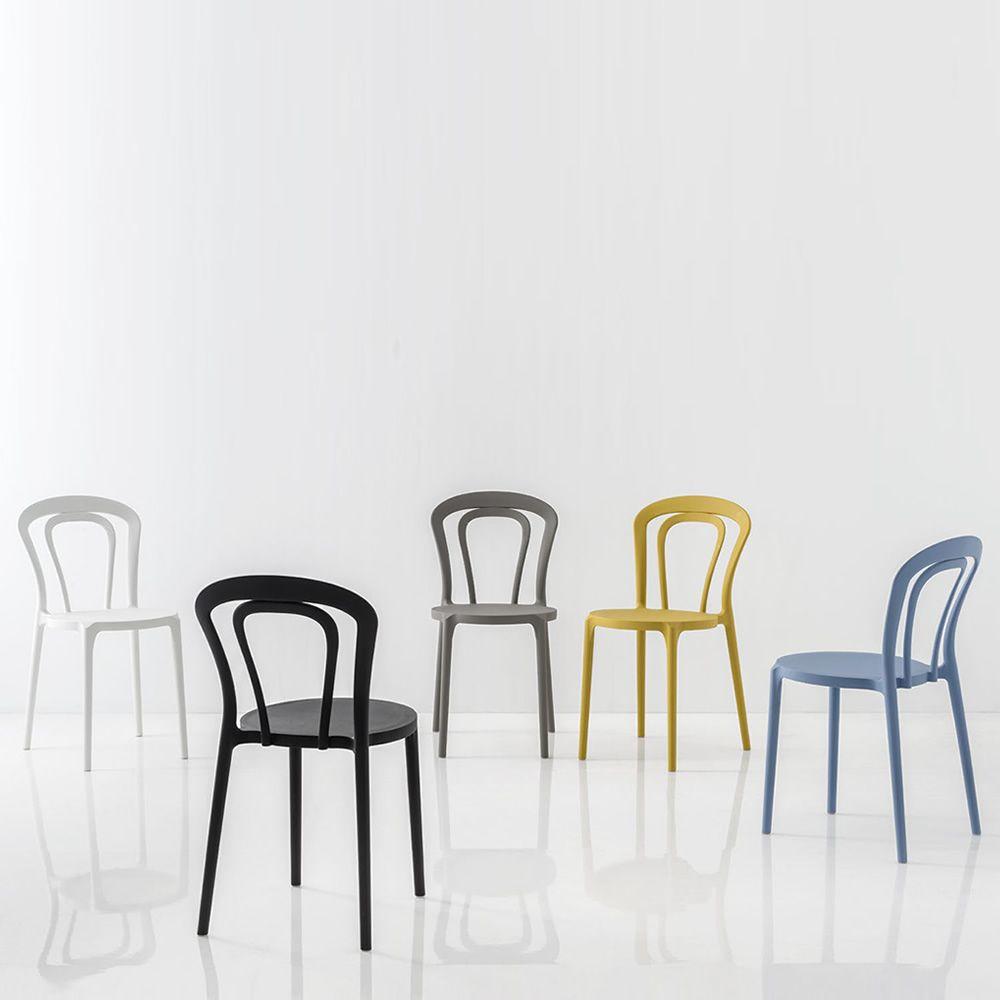cb1970 caffe polypropylene chairs - Scaun Caffe CONNUBIA (CB/1970)