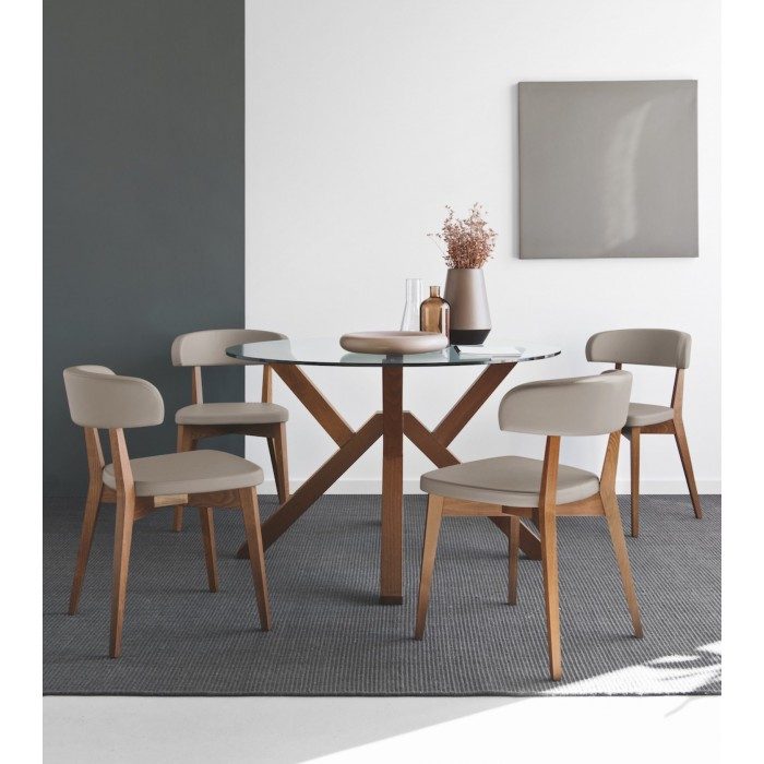 cb4728 table mikado by connubia calligaris sales online v p201 cb1536 g8q - Scaun Siren CONNUBIA (CB/1536)