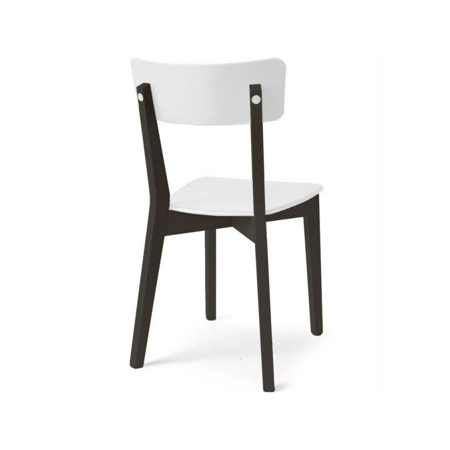 jelly cb1528 polypropylene and wooden dining chair by connubia calligaris italy 3 - Scaun Jelly W CONNUBIA (CB/1528)