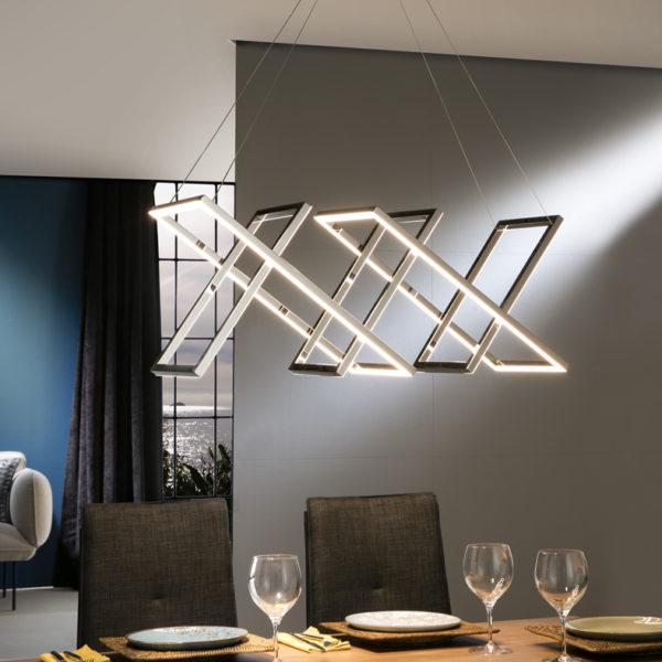 753321 lampara diseño led limus schuller cromo electricidad aranda lamparas almeria  600x600 - Lustră Limus SCHULLER (753321)