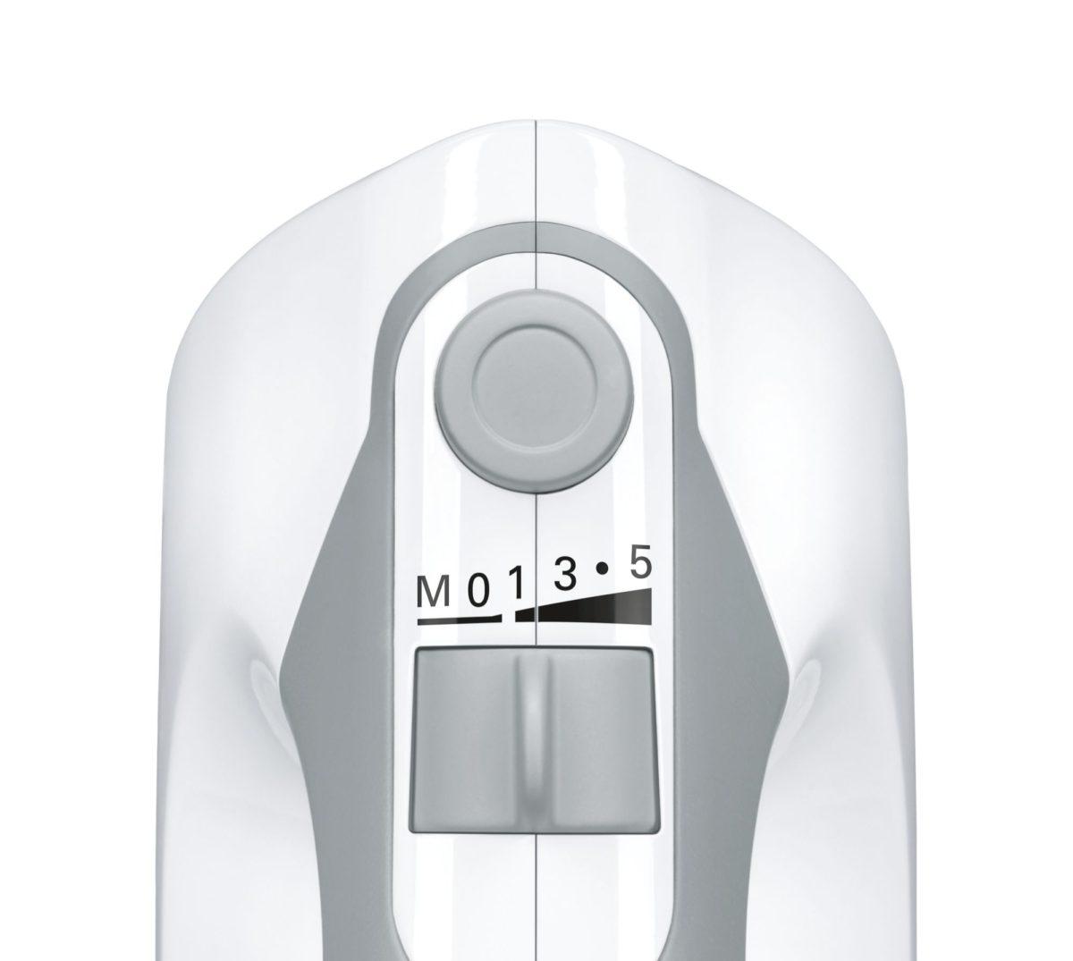MCSA00505819 MFQ36440 Insert Speed def 1200x1075 - Mixer de mâină Bosch, ErgoMixx, 450 W Alb, MFQ36440