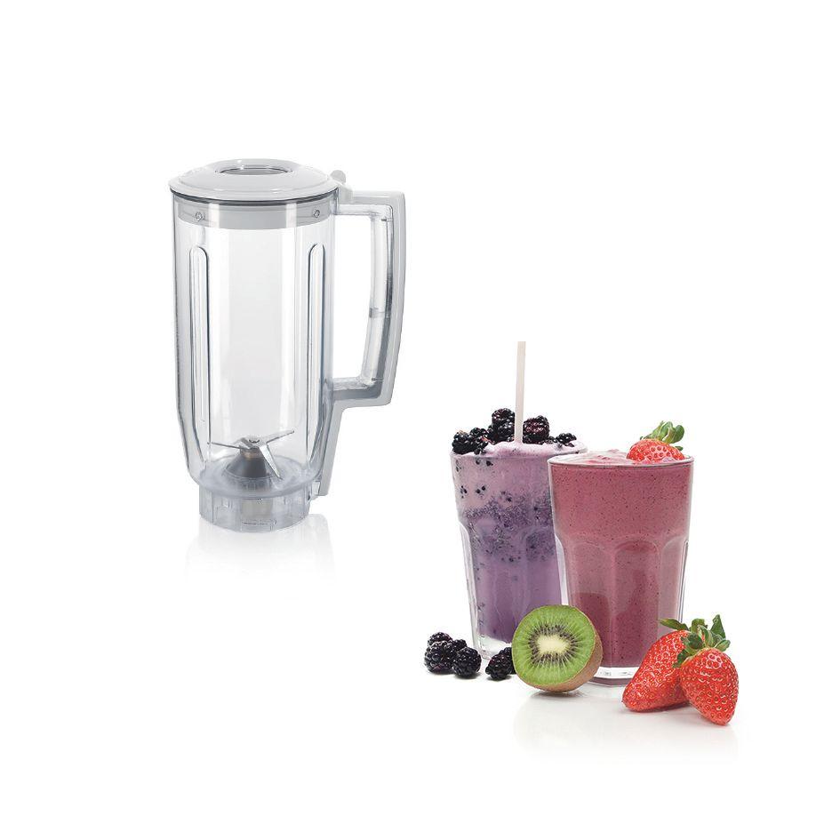 MCSA00930945 BO U 50 UZ1 MUZ5 MUZ5MX1 productshot noKF plastic blender food ENG 011214 def - Robot de bucatarie Bosch, MUM5 700 W Alb, MUM52120