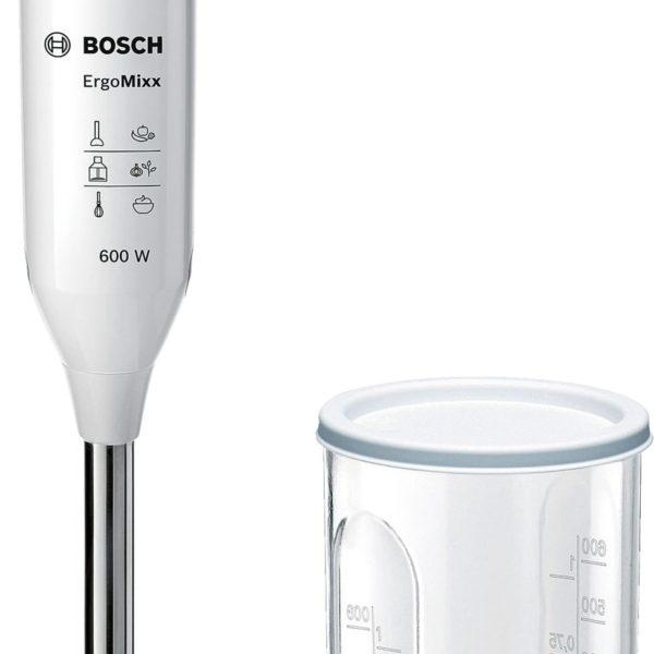MCSA01477293 G0804 MSM66110 999857 def 1 600x600 - Blender de mâină Bosch, ErgoMixx 600 W Alb, MSM66110