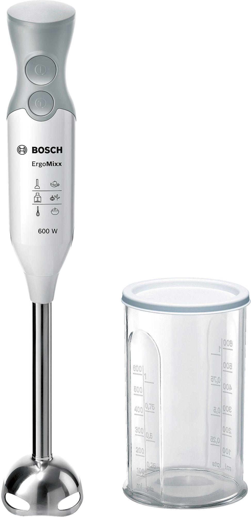 MCSA01477293 G0804 MSM66110 999857 def 1 - Blender de mâină Bosch, ErgoMixx 600 W Alb, MSM66110
