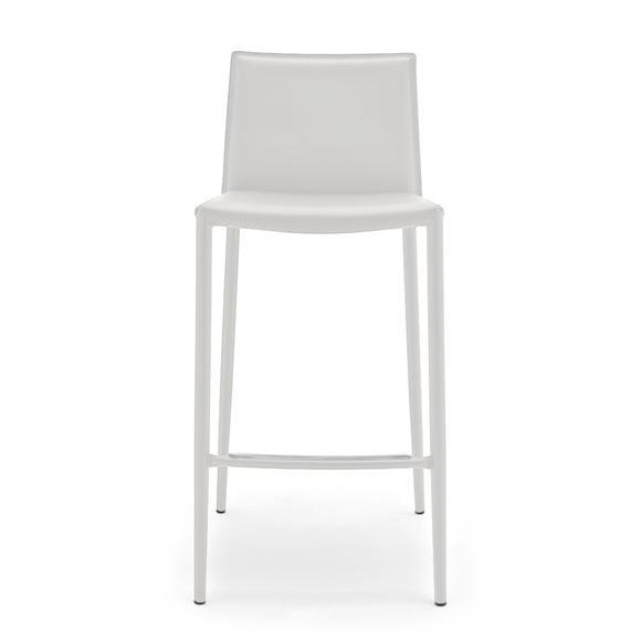connubia boheme bar stool w 430 h 900 d 495 mm matt snow white snow white calli cs 1393 p94 474 1 - Scaun pentru bar Boheme CONNUBIA (CB/1393)