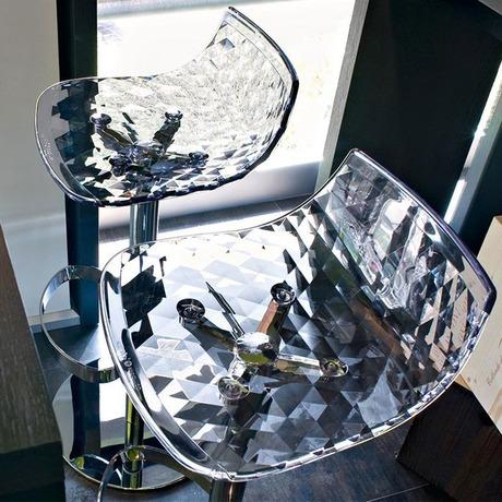 main - Scaun pentru bar Ice CONNUBIA