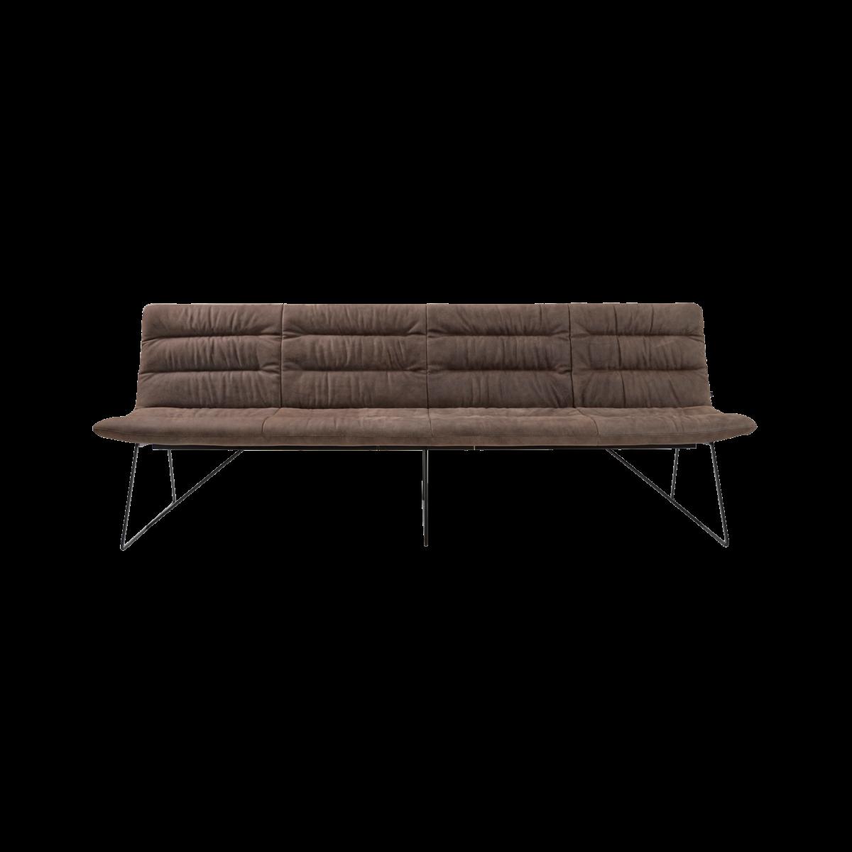 ARVA LIGHT BENCH 4er bench kuf oA pol brown KFF  0 1200x1200 - Bancheta Arva Light KFF
