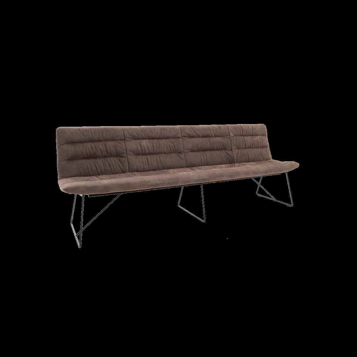 ARVA LIGHT BENCH 4er bench kuf oA pol brown KFF  1 1200x1200 - Bancheta Arva Light KFF