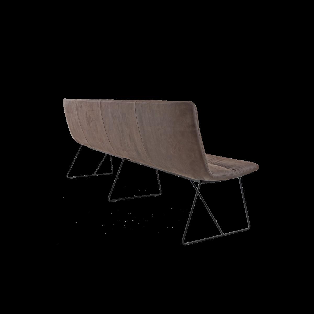 ARVA LIGHT BENCH 4er bench kuf oA pol brown KFF  4 1200x1200 - Bancheta Arva Light KFF