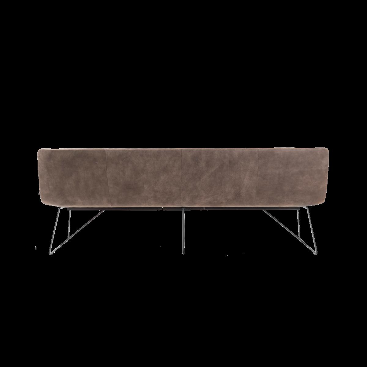 ARVA LIGHT BENCH 4er bench kuf oA pol brown KFF  5 1200x1200 - Bancheta Arva Light KFF
