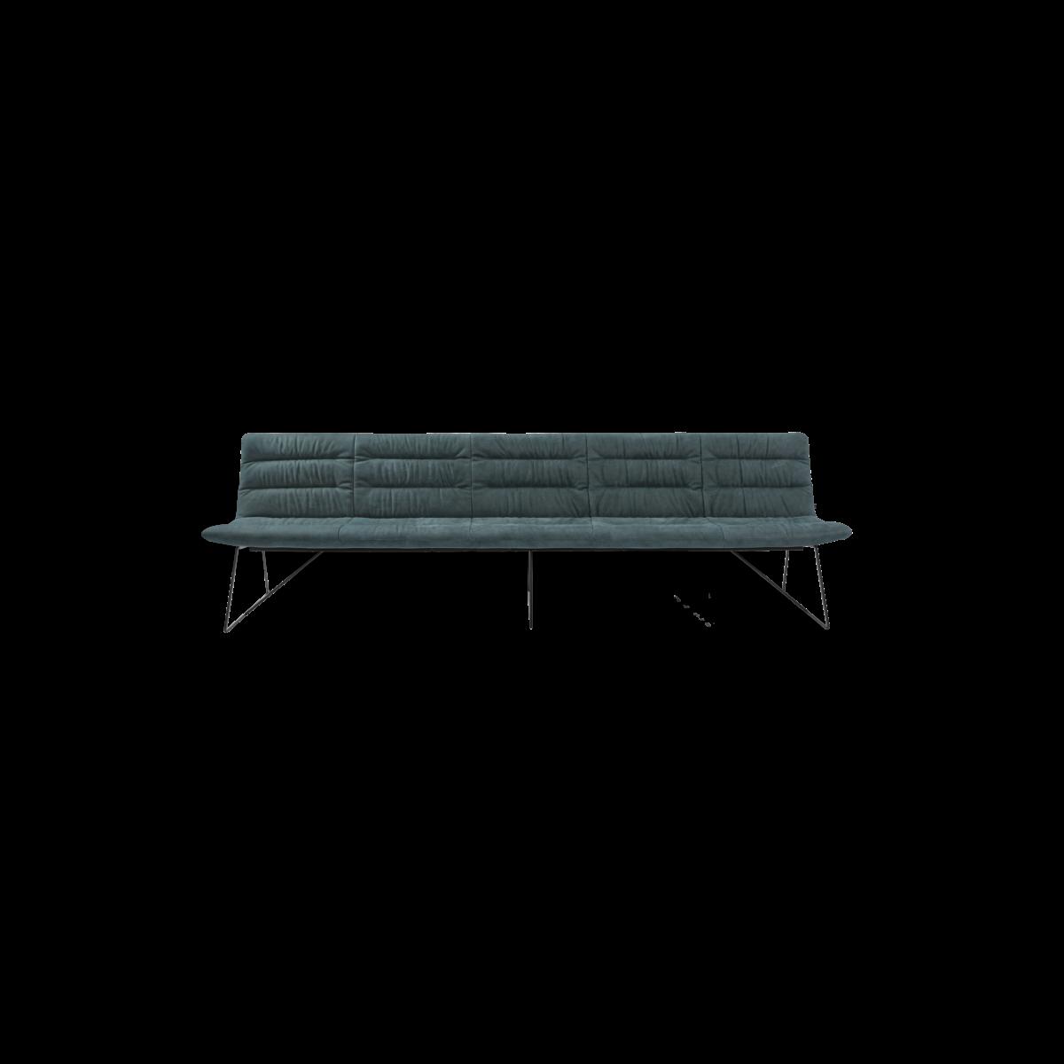 ARVA LIGHT BENCH 5er bench kuf oA pol turkis KFF  5 1200x1200 - Bancheta Arva Light KFF