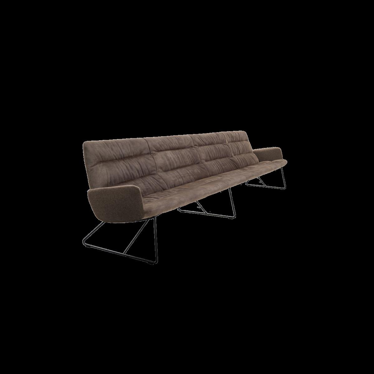 ARVA LIGHT LOUNGE 4er bench kuf mA pol KFF  2 1200x1200 - Bancheta Arva Light KFF