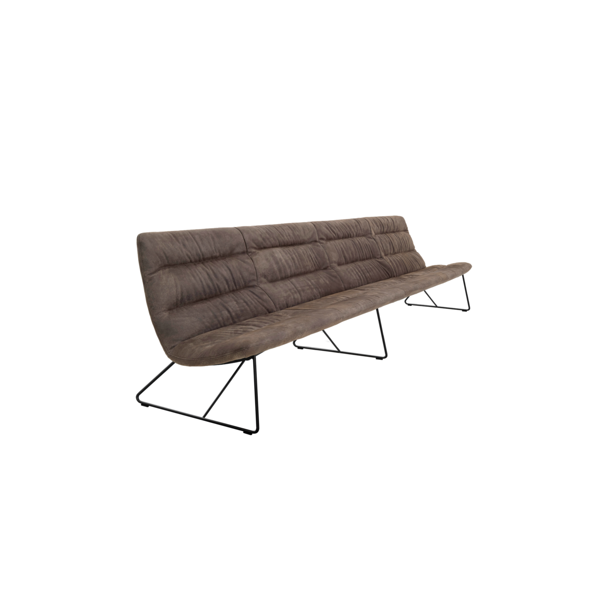 ARVA LIGHT LOUNGE 4er bench kuf oA pol KFF  2 1200x1200 - Bancheta Arva Light KFF