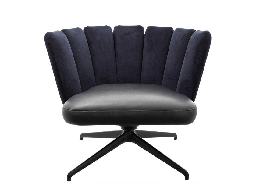 b GAIA LOUNGE Trestle based easy chair KFF GmbH CO KG 406433 rel7809e0e3 - Fotoliu Gaia Lounge KFF