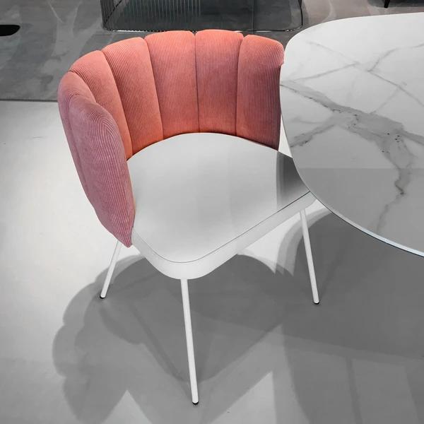gaia pink 5 600x - Scaun Gaia KFF