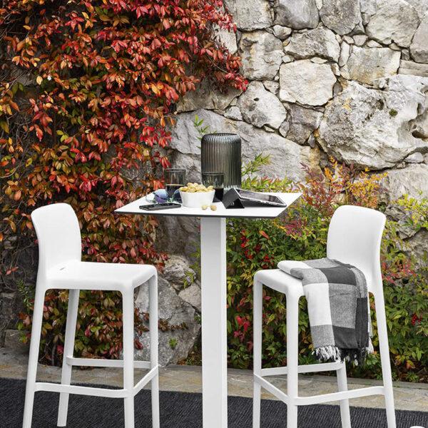 Connubia Bayo outdoor chairs kulteri szekek 8 600x600 - Scaun pentru bar Bayo CONNUBIA