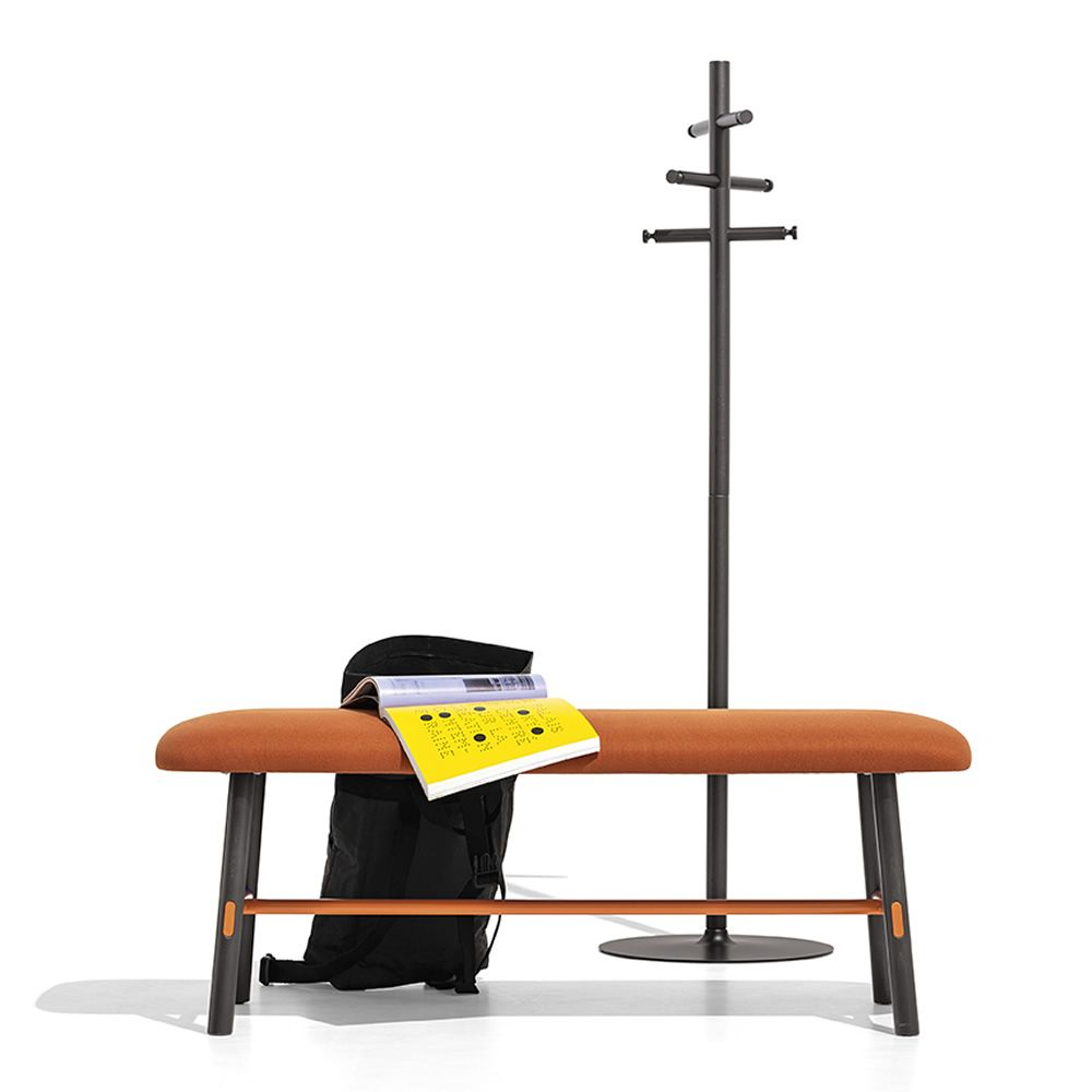 cb5212 app connubia coat rack in combination with yo bench by connubia - Suport pentru haine App CONNUBIA (CB/5212)