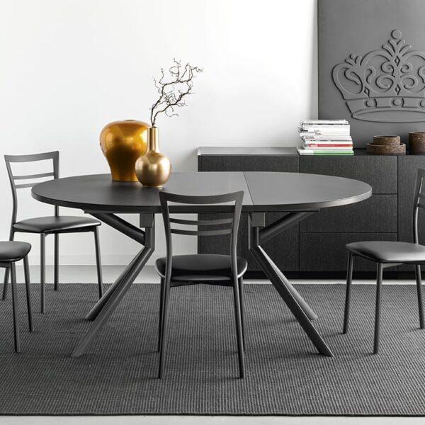 connubia giove extendible dining table 13 600x600 - Masa Giove CB4739-E 140 (Connubia)