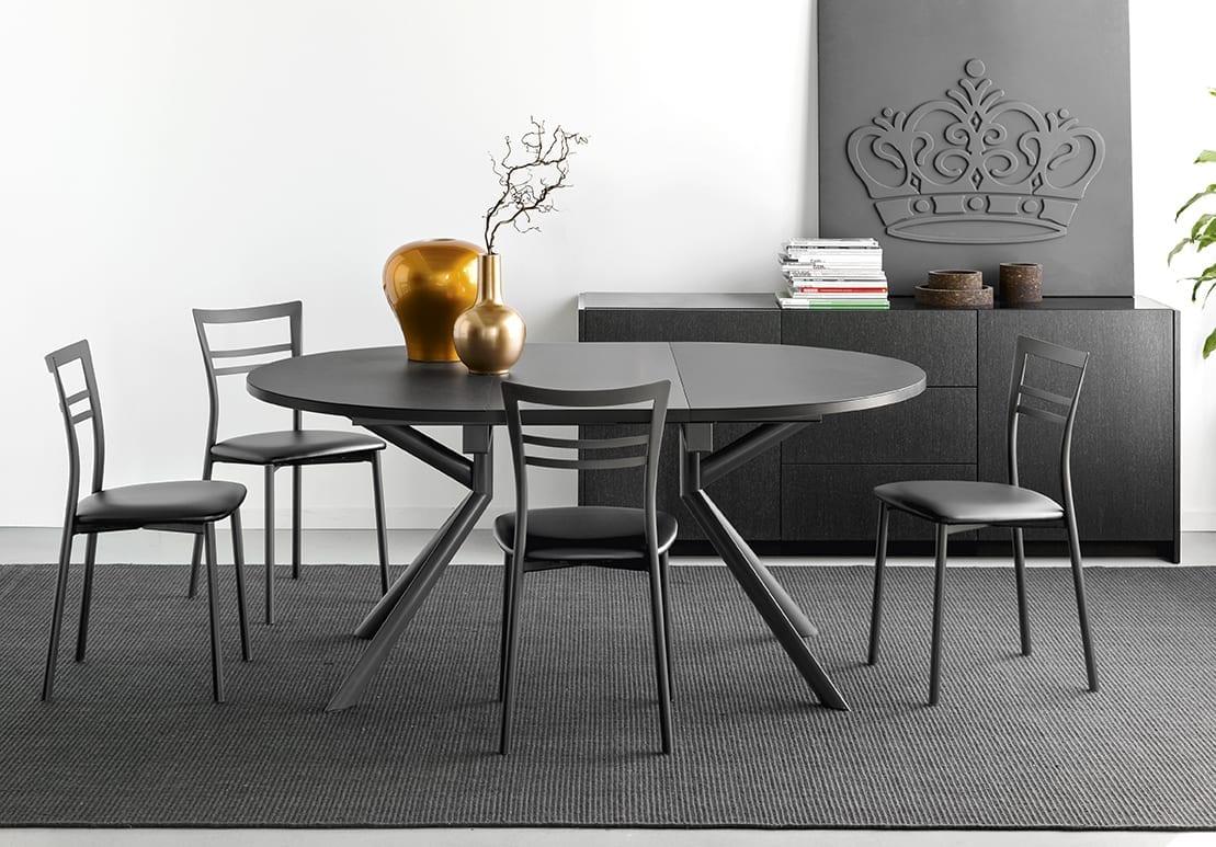 connubia giove extendible dining table 13 - Masa Giove CB4739-E 140 (Connubia)