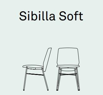 s - Scaun Sibilla Soft CONNUBIA (CB/1959 - A)