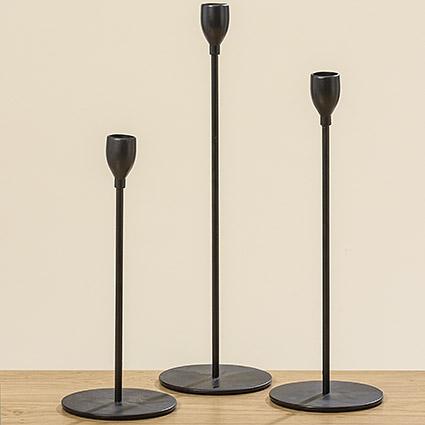 1007340 - Suport pentru lumânări MALTE, set.3, H23-28-33 cm (1007340)