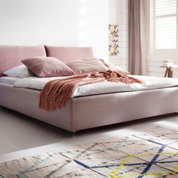 Homelike 180x200 Daisy rosewood Vintage rosa 1536x1024 1 600x600 - Dormitor Homelike 3C Candy Polstermoebel
