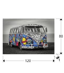 925921 1 - Print pe sticla Hippie SCHULLER (925921)