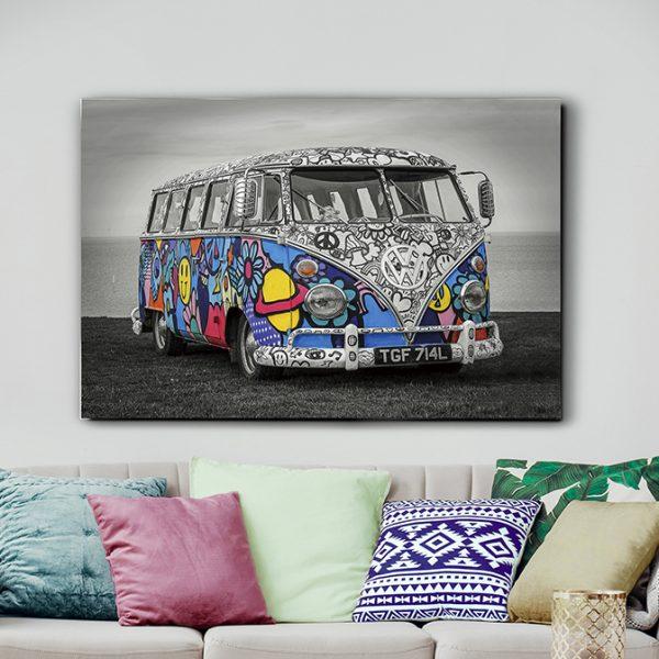 925921 600x600 - Print pe sticla Hippie SCHULLER (925921)