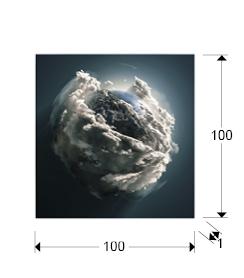 948135 1 - Print pe sticla Madre Tierra SCHULLER (948135)