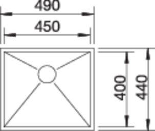 40097 - Chiuveta BLANCO, Zerox-U