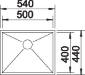 40126 - Chiuveta BLANCO, Zerox-U