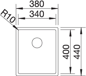 claron 340 1 - Chiuveta BLANCO, Claron-IF