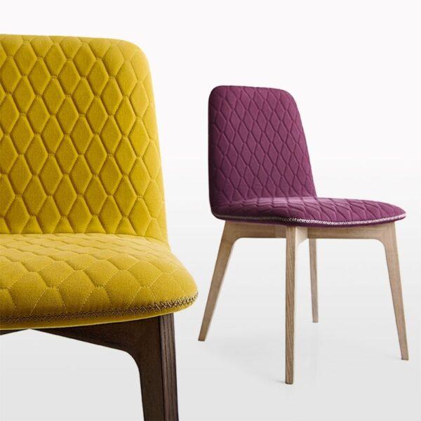 sami chair by connubia calligaris 1 600x600 - Scaun Sami CONNUBIA (CB/1472) Purple