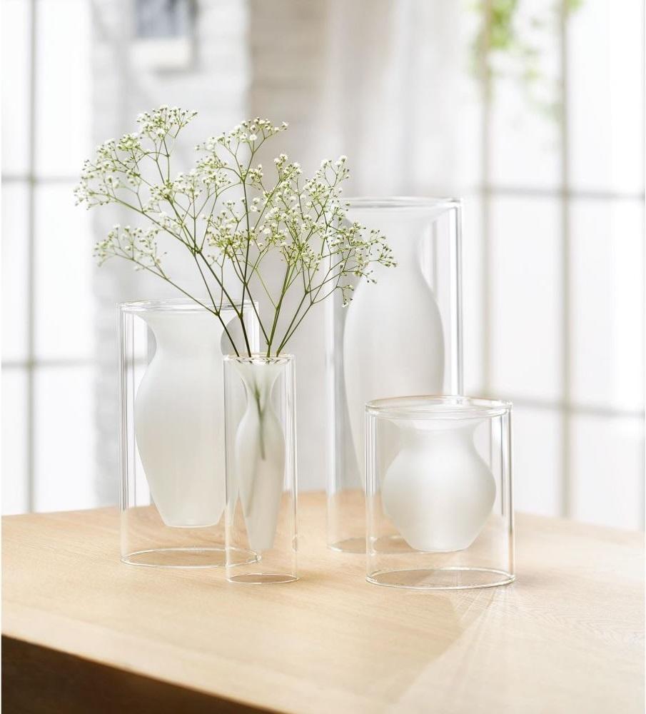 149002 149003 149004 149005 ESMERALDA Vase mood square - Vaza Esmeralda XS Philippi (149005)