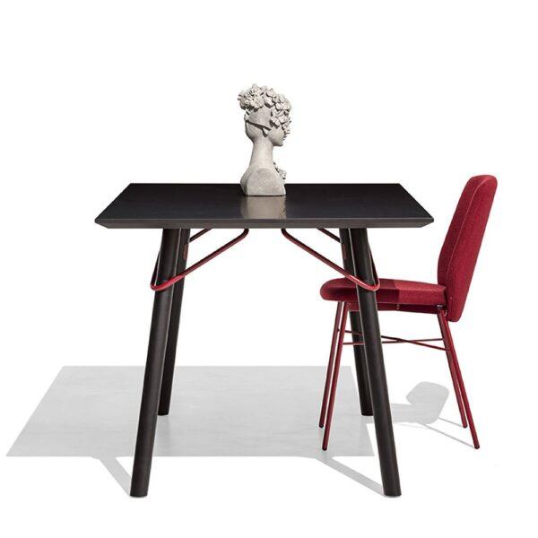 cb1959 a sibilla soft sibilla soft chair and tria table 600x600 - Scaun Sibilla Soft CONNUBIA